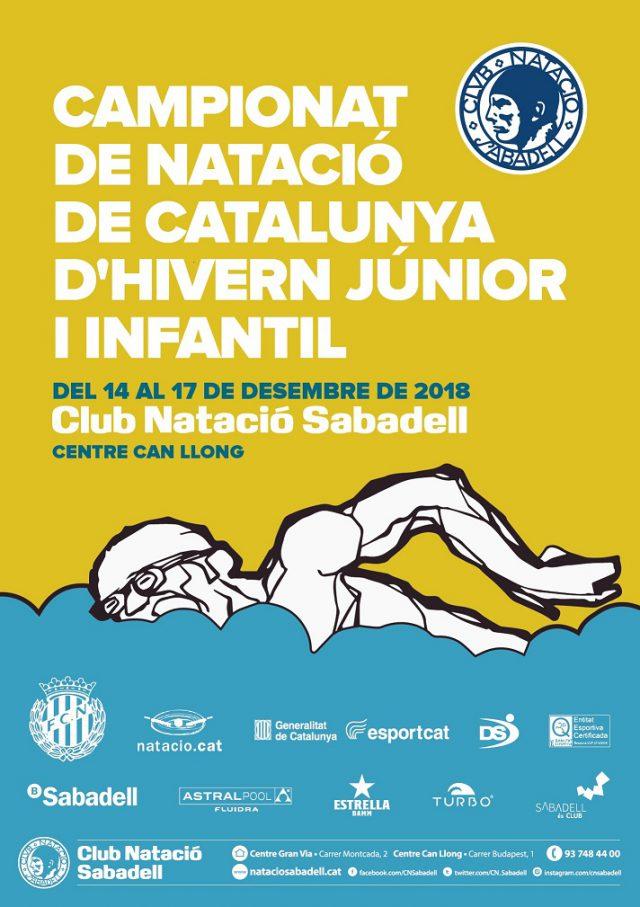 Campionat de Natació de Catalunya d'Hivern Júnior i Infantil